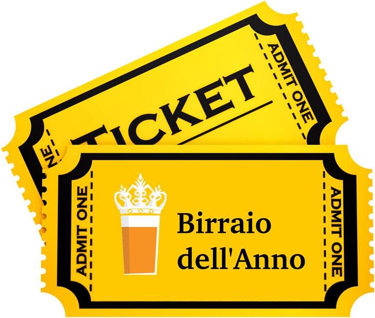 ticket birraio
